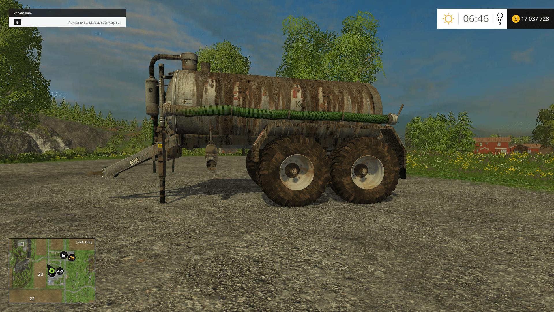 Русские Карты для Farming Simulator 2015