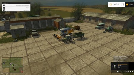 Карта Балдейкино для Farming Simulator 2017