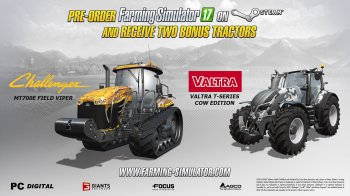 Farming Simulator 2017 появился в Steam