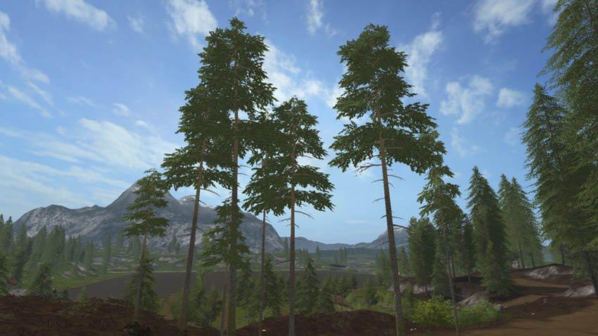 скачать мод на высокие деревья - фото 2