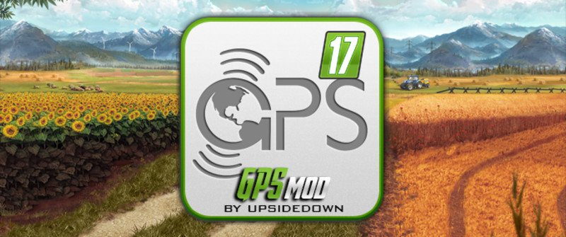 Мод GPS v 5.2 RUS для Farming Simulator 2017