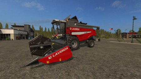 Комбайн Laverda M300 для Farming Simulator 2017