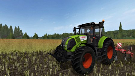 Трактор Claas Axion 820 для Farming Simulator 2017