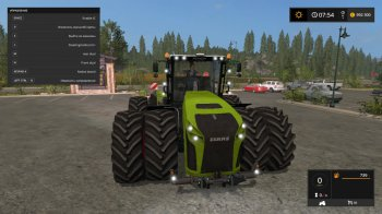Трактор CLAAS XERION 5000 для Farming Simulator 2017