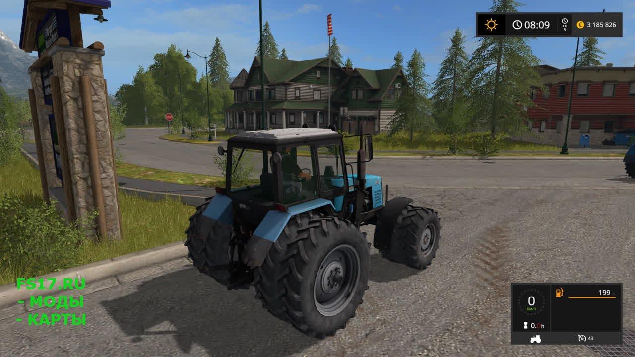 трактора 17 мод скачать