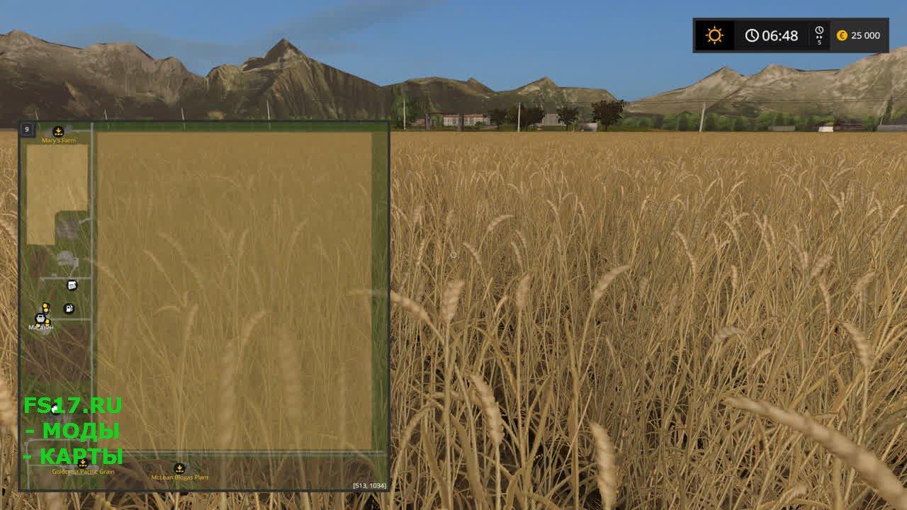 Скачать карты для Farming Simulator 2017 t