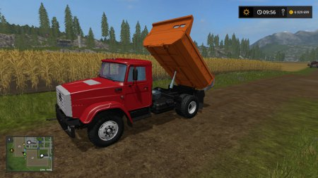 ЗиЛ ММЗ 45085 для Farming Simulator 2017