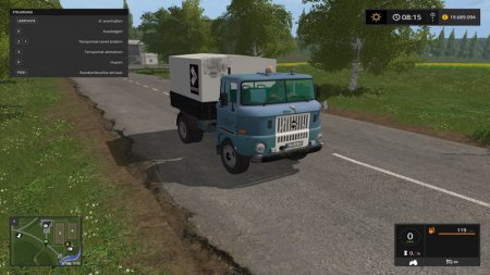 Грузовик IFA W50 для Farming Simulator 2017