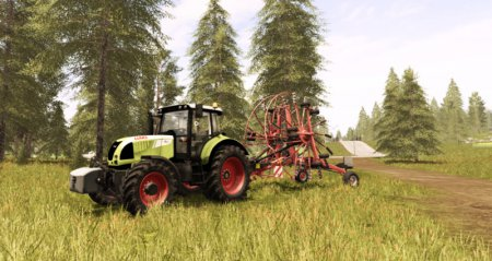 Трактор CLAAS ARION 620 Cebis для Farming Simulator 2017