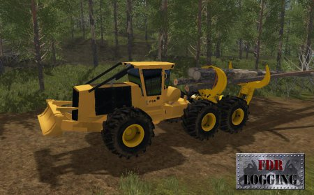 Мод CLAMBUNK SKIDDER для Farming Simulator 2017