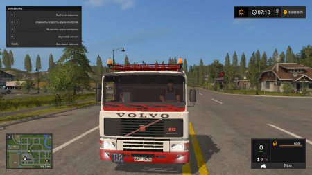 Грузовик Volvo F12 для Farming Simulator 2017