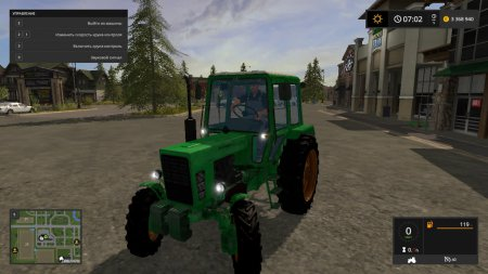 Трактор МТЗ 82 для Farming Simulator 2017