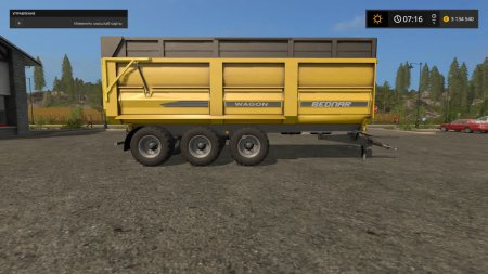 Прицеп-самосвал Bednar Wagon для Farming Simulator 2017