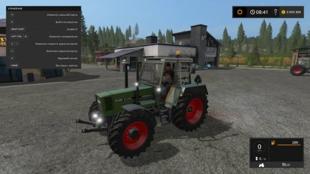 Трактор Fendt Favorit 615 для Farming Simulator 2017