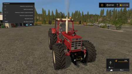 Трактор INTERNATIONAL 1455XL для Farming Simulator 2017
