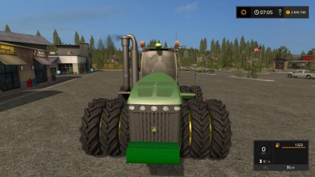 Трактор John Deere 9630 для Farming Simulator 2017