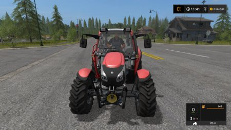 Трактор Lindner Lintrack 90 для Farming Simulator 2017