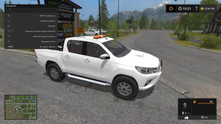 Машина TOYOTA HILUX для Farming Simulator 2017