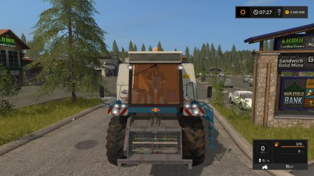 Комбайн Fortschritt E 516 B для Farming Simulator 2017