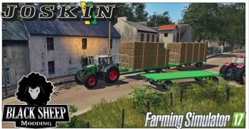 Прицеп для перевозки тюков для Farming Simulator 2017
