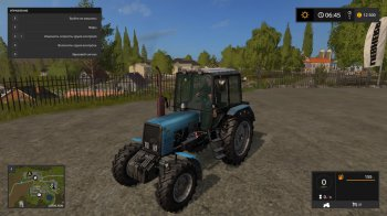 МТЗ Беларус 1025 для Farming Simulator 2017