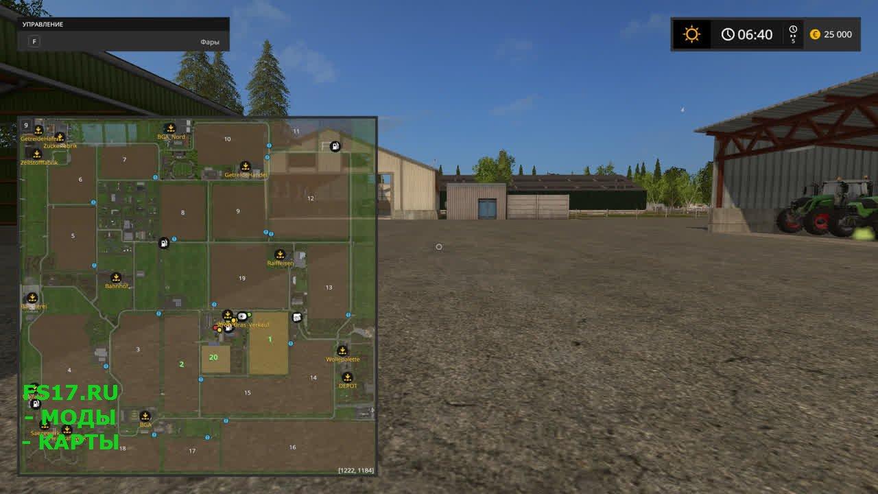 Как сделать карту для farming simulator 2017 615