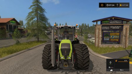 Трактор Claas Xerion 3800 для Farming Simulator 2017