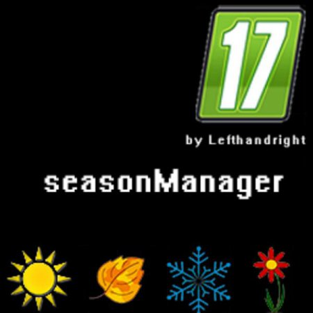 Season Manager для Farming Simulator 2017