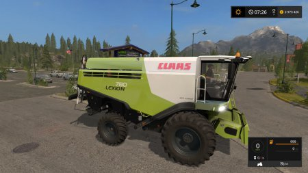 Комбайн Claas Lexion 780 для Farming Simulator 2017