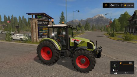 Трактор Claas Axos 330 для Farming Simulator 2017