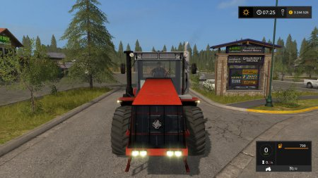 Трактор Кировец К-744 Р3 для Farming Simulator 2017