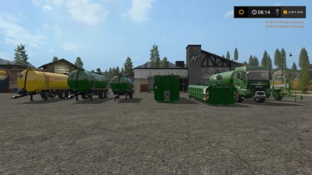 Пак прицепов для Farming Simulator 2017