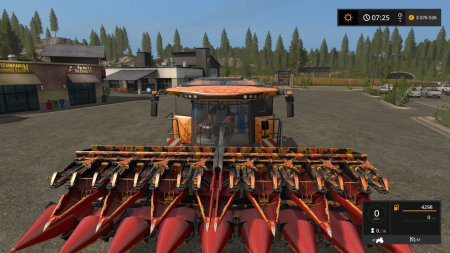 Комбайн New Holland CR 10.19 для Farming Simulator 2017