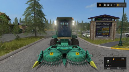 Силосоуборочный комбайн ДОН 680 М для Farming Simulator 2017