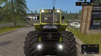 Трактор Mercedes-Benz 1500 для Farming Simulator 2017