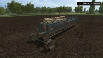 Сеялка 8 метров для Farming Simulator 2017