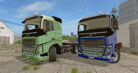 Грузовик Volvo FH4 540 Agrar для Farming Simulator 2017