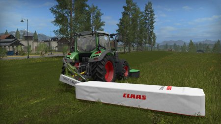 Claas Disco 3450 Plus для Farming Simulator 2017