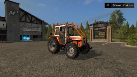 STEYR 8090 TURBO SK2 для Farming Simulator 2017