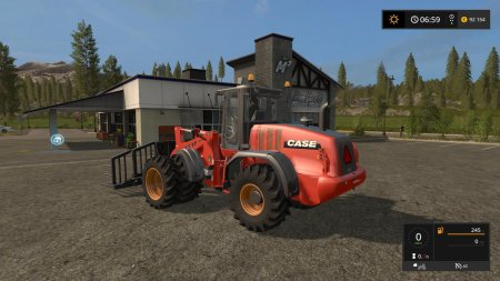 CASE 721F XR для Farming Simulator 2017