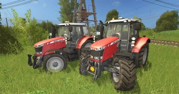 Трактор Massey Ferguson серии 6600 для Farming Simulator 2017