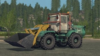 Погрузчик HTZ Т-150К TO-25 для Farming Simulator 2017