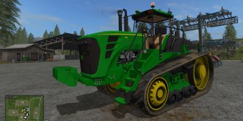 Трактор John Deere 9630 T для Farming Simulator 2017