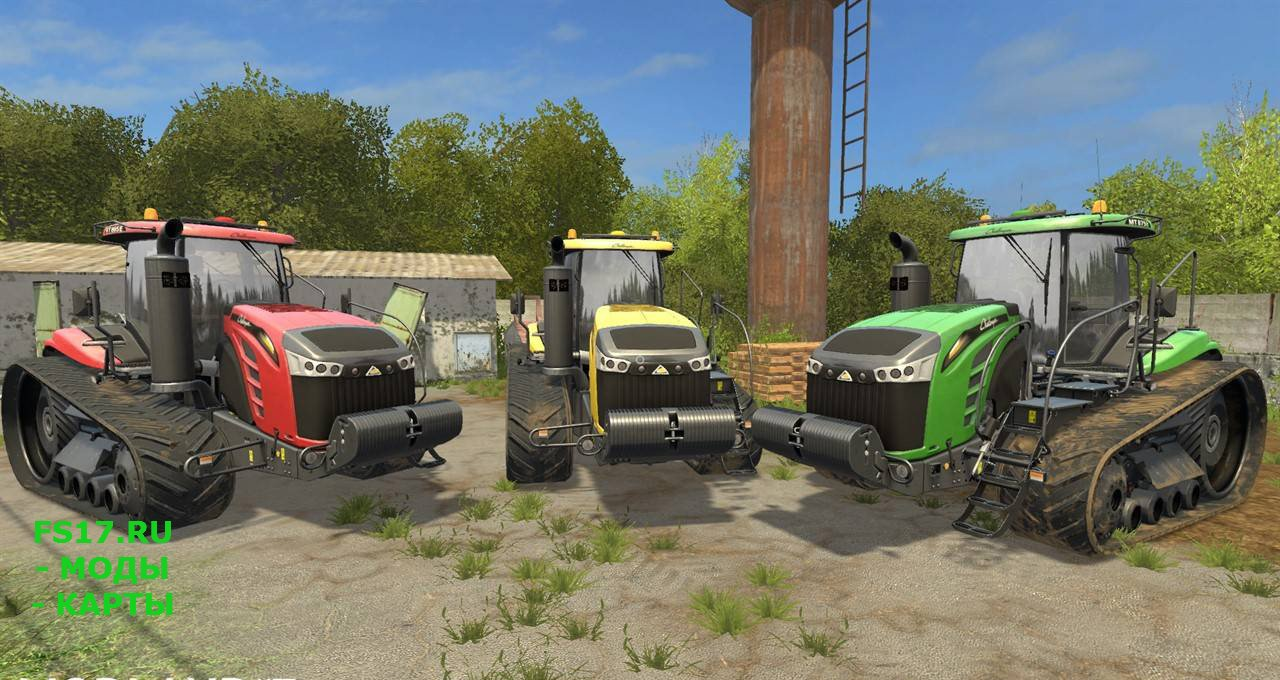 Трактор CAT Challenger MT800E для Farming Simulator 2017