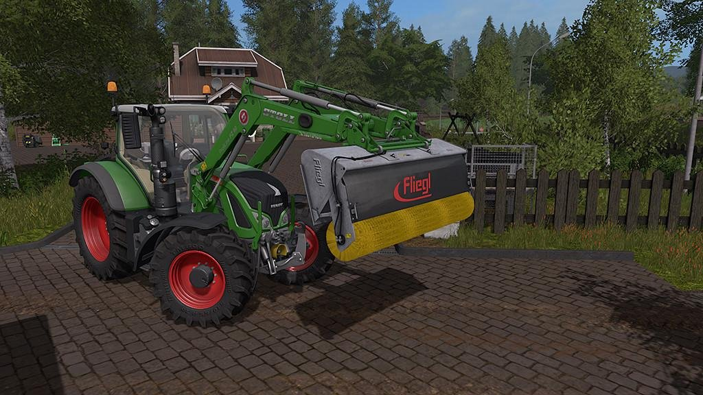 Щетка FLIEGL POWERPRO V1.0 Farming Simulator 2017