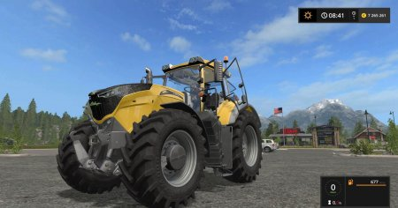 Трактор CHALLENGER 1000 для Farming Simulator 2017