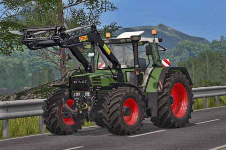 Трактор Fendt Favorit 500C для  Farming Simulator 2017
