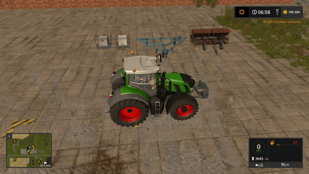 Сеялка СЗП-3.6  v3.0 для Farming Simulator 2017