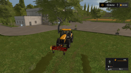 Ворошилка SIP FAVORIT 220 V1.0 для Farming Simulator 2017