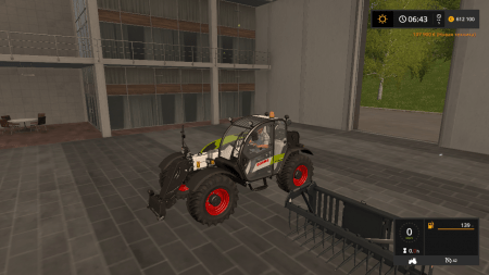 Погрузчик CLAAS SCORPION 7044 V1.0 для Farming Simulator 2017